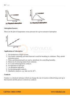 Surface Chemistry Class 12 Notes   Vidyakul Surface Chemistry Notes, Chemistry Class 12, Physics, Teacher, Professor, Teachers, Physique