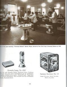 Vintage barber shop. #Barbicide