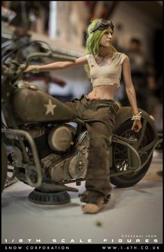1-6th.co.uk Toy Art, Sci Fi Models, Modelos 3d, Custom Action Figures, Tank Girl, Fallout, Dieselpunk, Ball Jointed Dolls, Zbrush