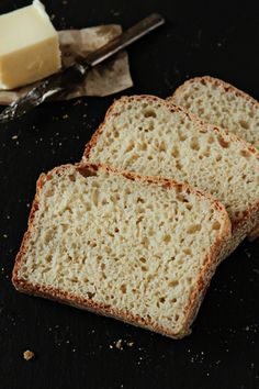 English muffin bread.  Great time saver and for those that don't have muffin rings to make the real deal.