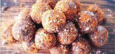 Do you ever get hit by a sudden chocolate craving? No need to deprive yourself! Almond Butter Chocolate Protein Balls (They're Raw & Vegan! Vegan Sweets, Vegan Snacks, Healthy Desserts, Raw Food Recipes, Sweet Recipes, Cooking Recipes, Detox Recipes, Snack Recipes, Ayurveda
