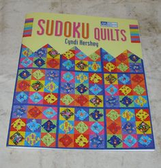 The Patchwork Place  Sudoku Quilts  By Cyndi by YARNSMYTHSHOP, $7.00