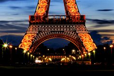 Eiffel Tower, Paris..it is a beauty! Maybe I will go back with hubby one day!
