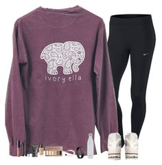 """quest at bonclarken is in almost a week!!"" by lindsaygreys ❤ liked on Polyvore featuring NIKE, Converse, Urban Decay, Fitbit, NARS Cosmetics, S'well, Marc Jacobs and ULTA"
