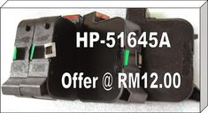 Hp 51645A 25 units RM300.00 + courier 20.00 ,      50 units RM600.00 +courier 45.00 ,  75 unit RM900.00 + courier 55.00 ,  100 units RM1200.00 + courier 75.00 Please do not hesitate to contact to us, WORLDWIDE RESELLER WANTED. OR VOLUME BUYER ARE WELCOME TO CONTACT US. WAN … Stock Clearance, Printer, The Unit, Epson, Ribbon, Tape, Printers, Band, Ribbon Hair Bows