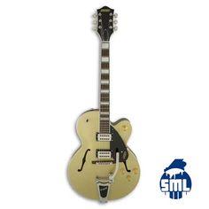 Guitarras elétricas e acústicas Gretsch, encontra no Salão Musical de Lisboa. Visite o nosso site.