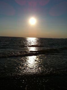 Sunset, edisto beach s.c.