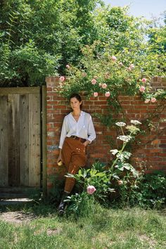 A stroll through the editor's romantic and meandering 40 acres — cultivated over the last 20 years by her friend, the landscape designer Miranda Brooks.