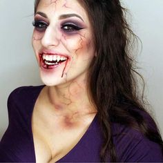 Vampire Makeup for Halloween