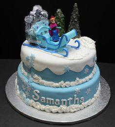 Gateau anniversaire la reine des neiges idées déco la reine des neiges gateau