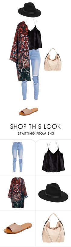 """""""Untitled #164"""" by dyniesha ❤ liked on Polyvore featuring MANGO, Chloé, Lack of Color, Diane Von Furstenberg and Rebecca Minkoff"""