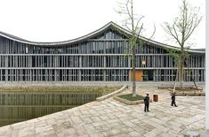 Image 1 of 26 from gallery of New Academy of Art in Hangzhou / Wang Shu, Amateur Architecture Studio.