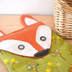 microwaveable heating pad, rice pack, microwave warmer, fox, rice heating bag, hot or cold pack, heating pad, organic lavender and rice bag on Etsy, $24.00