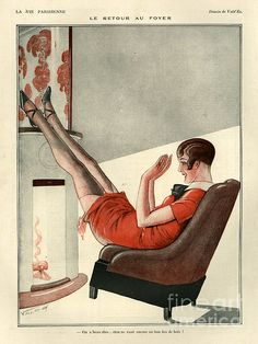 1920s France La Vie Parisienne by The Advertising Archives