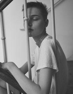 Lina Hoss by Stefano Galuzzi for Vogue Ukraine January 18