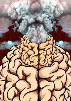Brain EXPLODE ilustration