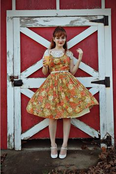 Very vintage and adorable dress