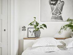 my scandinavian home: A fab monochrome Swedish space Decor Design, Interior Design Inspiration, Bedroom Interior, Scandinavian Home, My Scandinavian Home, Home Decor, Bedroom Inspirations, Small Room Bedroom, Modern Arrangements