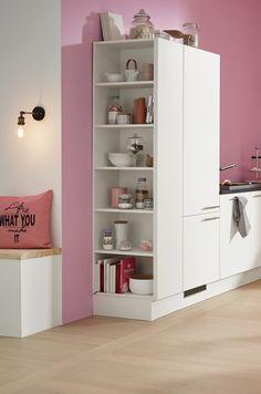 Kühlschrank retro rosa  Freistehender Kühlschrank im Rosa Retro Look für die Candy Küche ...
