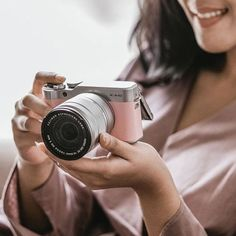 Fujifilm X A3 Mirrorless Digital Camera With 16 50mm Lens Pink
