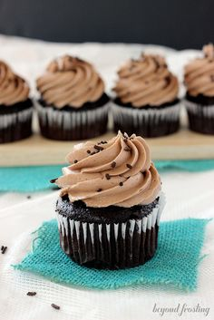 Whipped Chocolate Peanut Butter Frosting