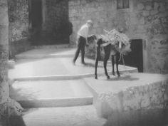 Tadeusz Wański collection / Chorwacja / Abakarska / Postój na schodach / 30 x 40 cm / bromolej