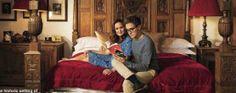 Tom Fletcher & Giovanna Fletcher in HELLO! Magazine 2013.
