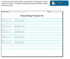 Printables Custom Cursive Worksheets custom cursive worksheets practice signature biztown my 8th graders asked for handwriting so customizable printables