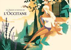 Le Jardin d'hiver de L'Occitane on Behance