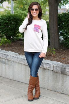 Indie Chic Sweatshirt