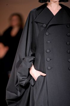 I love this for full Magicsingers' robes.  (Yohji Yamamoto Fall 2013 - Details