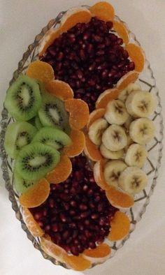 Meyve tabağı☺️