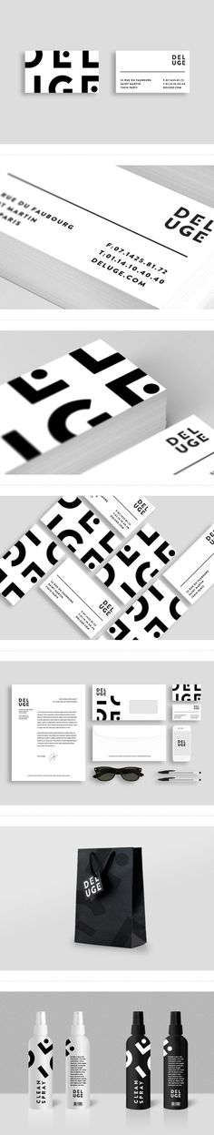 Deluge Branding on Behance | Fivestar Branding – Design and Branding Agency & Inspiration Gallery