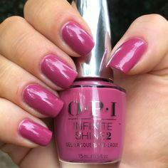 OPI: Aurora Berry-alis #OPI #OPIIcelandCollection #OPIAuroraBerryalis #NailPolishAddict #NailPolishCollection