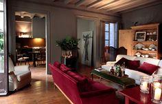 cozinha vermelha e cinza - Pesquisa Google