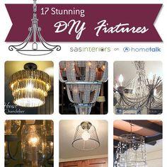 17 Stunning DIY Light Fixtures.