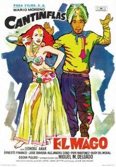 Cantinflas - El Mago (1949) - Cine Mexicano Epoca de Oro