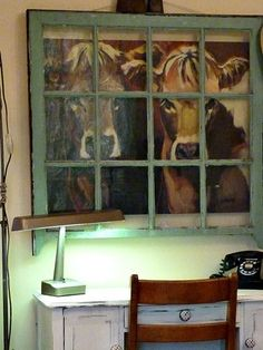 """So cute- cows """"looking"""" in the window. Starview Sonnet"""