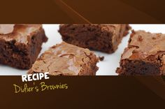 Didier's Brownies - Make the delicious Daskalidès brownie yourself, check this unique recipe of our maître-chocolatier Didier.  #desserts #easy #fast #cooking #kids #snacks #brownie #chocolate #daskalides #recipe #oven #honey #pecan #nuts