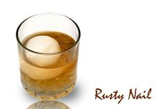 The RUSTY NAIL is an easy to make two part drink with Scotch whisky & scotch based honey liqueur. Those Mad Men of the Rat Pack loved this cocktail. Get the recipe and a little history at http://homebars.barinacraft.com/post/56613613901/rusty-nail-cocktail-drink