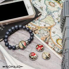 Pour ceux qui voyage et ceux qui en rêve, portez vos endroits préférés grâce aux bracelet nomaad! Beaded Bracelets, Jewelry, Travel, Jewlery, Jewels, Jewerly, Jewelery, Seed Bead Bracelets, Pearl Bracelet