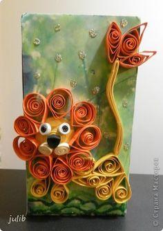 Artículos de decoración cajas de productos de artesanía, portalápices Quilling de papel Foto 4
