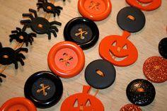 Vitamin C... A Daily Dose of Creativity: Halloween Button Bracelets