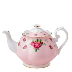 Royal Albert New Country Roses Pink Vintage Teapot