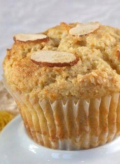 Meyer Lemon Ricotta Muffins #recipe
