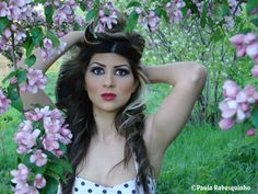 Model: Asma Cherry Photography by: Paula Rabasquinho #Model #Spring #Photography #Flowers #Tree #Images