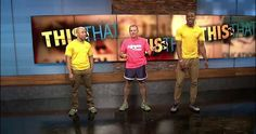 Watch Antonio & our newest trainer, Tyler, do burpees with James Howard of News Channel 9's This N That! #PFPromo