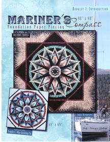 Canton Village Quilt Works:  Mariner's Compass ~ Technique of The Month Pattern Set