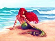 Little Mermaid. Beautiful