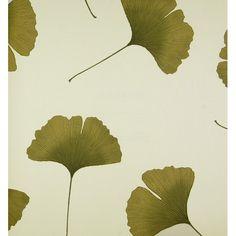 Marimekko Biloba 33' x 27'' Botanical 3D Embossed Wallpaper | AllModern